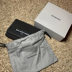 Balenciaga Paris Nylon Wallet